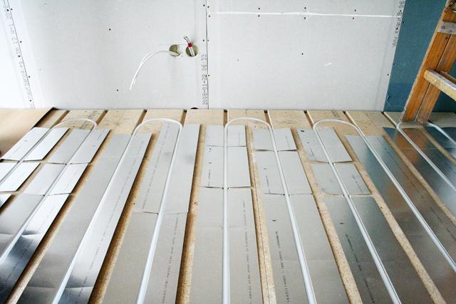 Spånplade til gulvvarme – Jem og fix gas ombytning