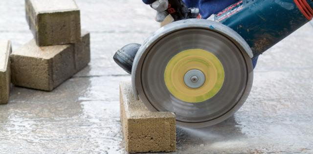 Vinkelsliber beton