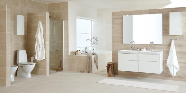 Nyt design i badeværelset